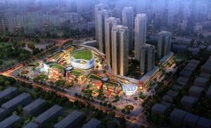 2014年10月17日 HMA规划设计的金地仟百汇获中国房地产创新典范奖
