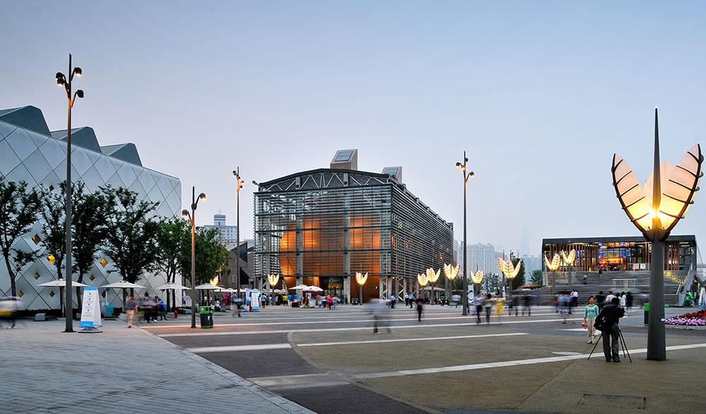 上海世博会城市最佳实践区中部展B4区